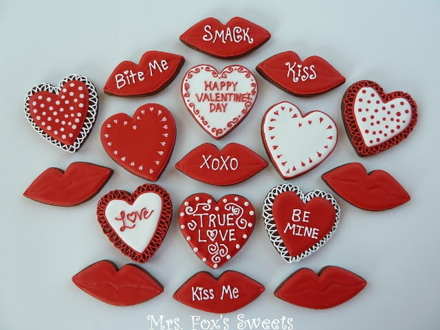 valentine's day cut out cookies recipe