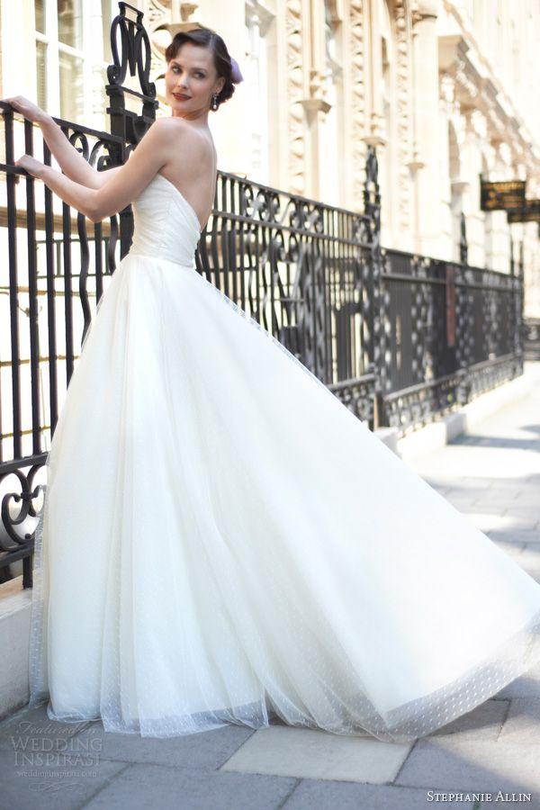Stephanie allin 2014 Allie vestido de noiva