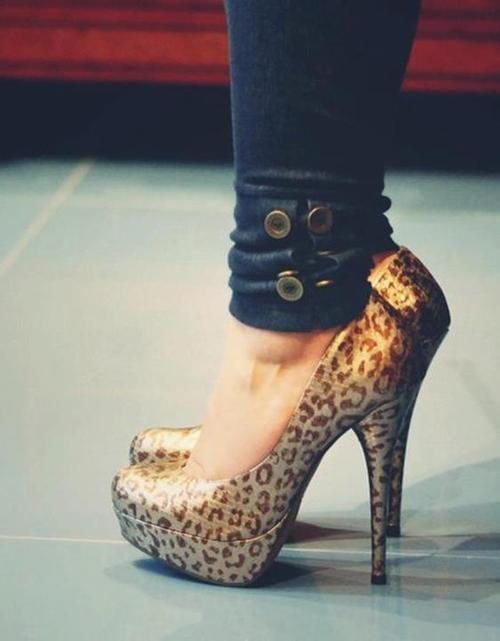 cheetah shoes