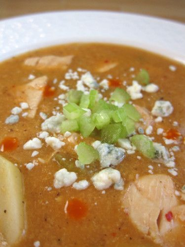 buffalo chicken chowder | Soup | Pinterest