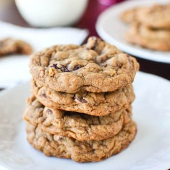 Chewy Chocolate Cherry Oatmeal Cookies | DESSERTS--DON'T WAIT | Pinte ...