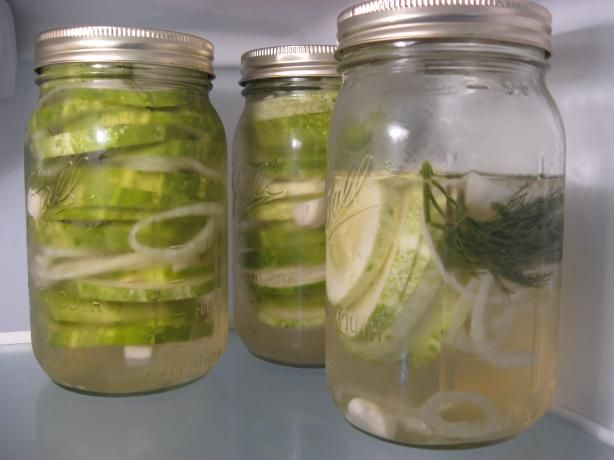 Dill Refrigerator Pickles from Food.com: These are the easiest dill ...