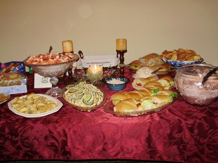 Christmas Eve Appetizer Buffet 2010 Christmas Ideas