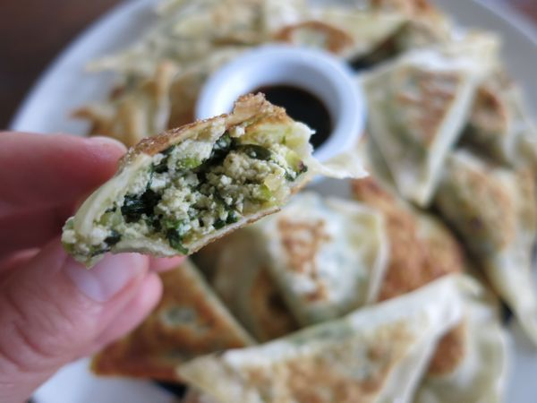 dumplings - to use up ANY greens! | CSA {Kale & Other Greens} | Pinte ...