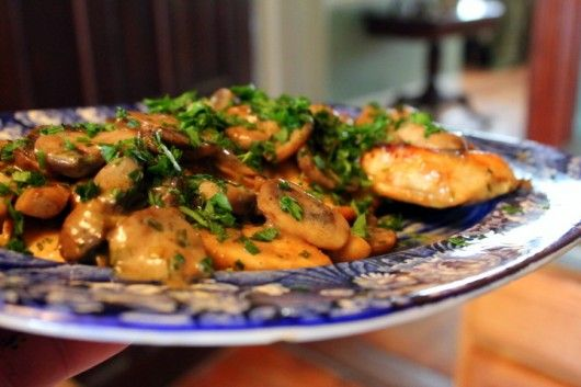 mmmm chicken amp vermouth mushrooms amp tarragon what could be better