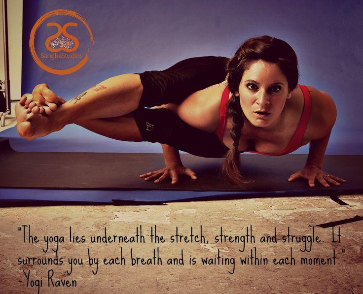 Yoga crow pose variations