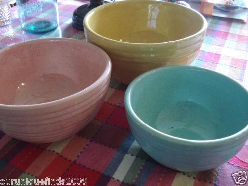 Vintage McCoy Mixing Bowls