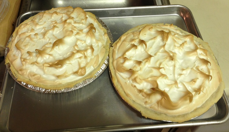 Lemon & lime meringue pies | Lalobas home bakery | Pinterest