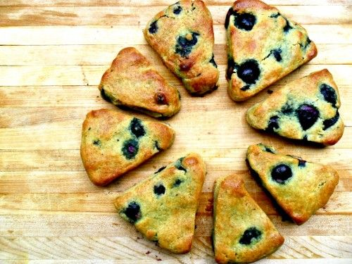 Blueberry Scones | Gluten Free | Pinterest