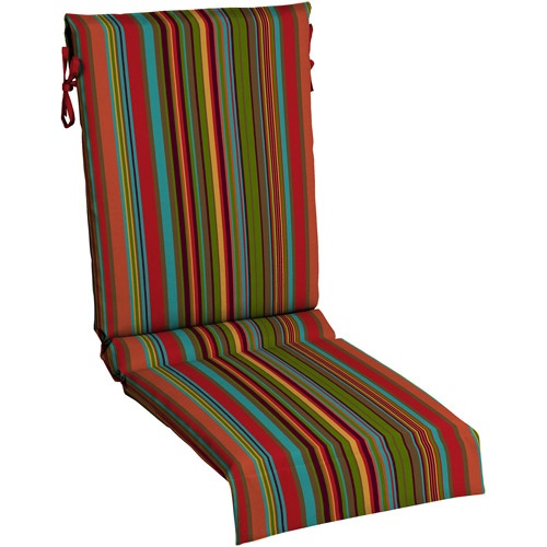 Mainstays Sling Chair Outdoor Cushion Bright Stripe
