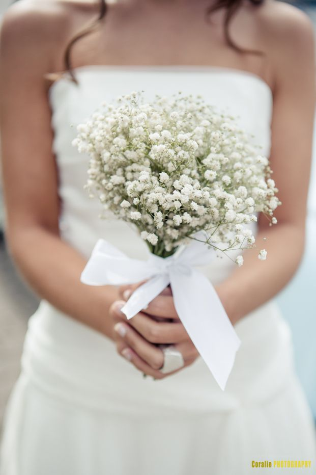 Bouquet de gypsophile
