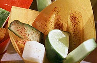 Rick's Mango, Jicama, and Cucumber Salads
