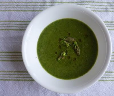 Chilled Asparagus Soup - Amazing. | Ideal Protein! | Pinterest