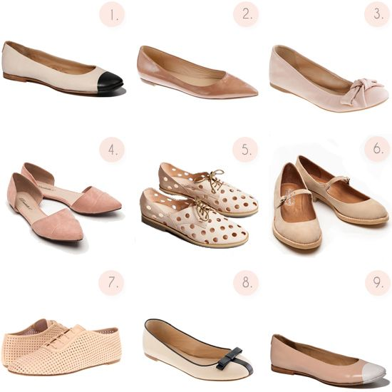 Dreamy Spring shoes--flats