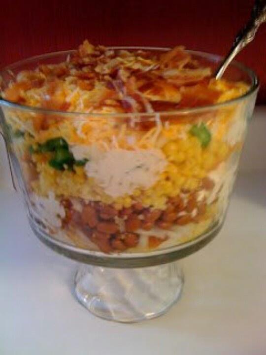 Cornbread salad ... | Appetizers and Food | Pinterest