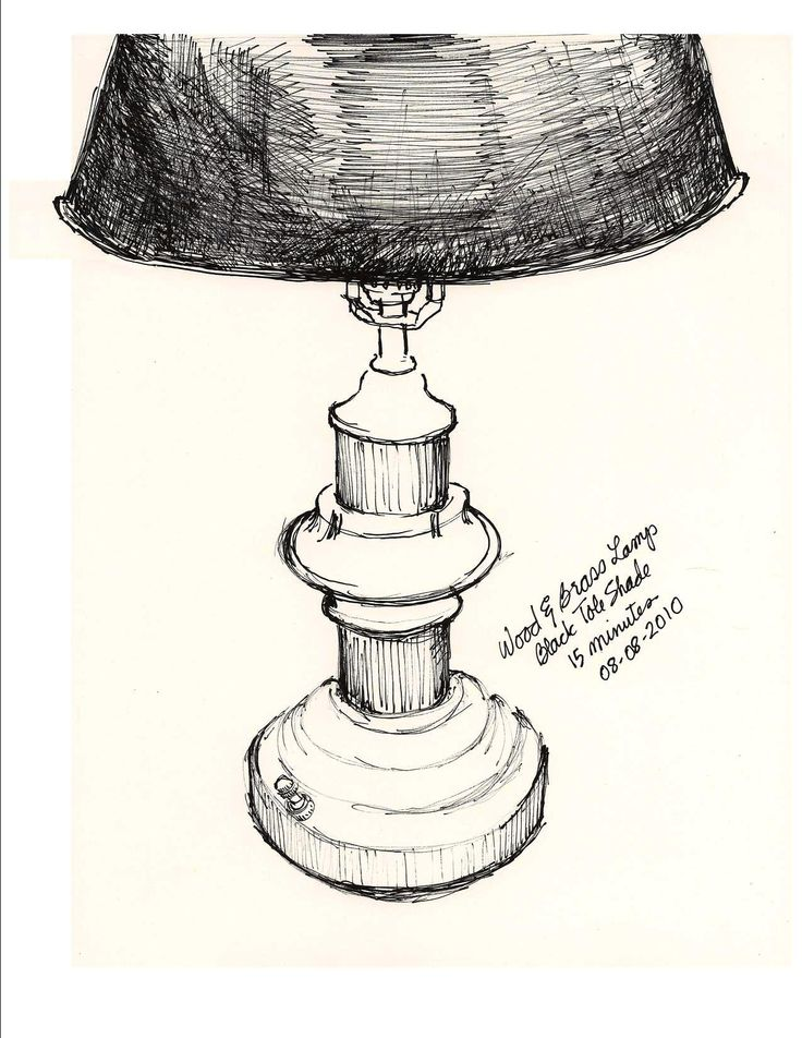 Drawings of table lamps google search lighting pinterest for Table design sketch