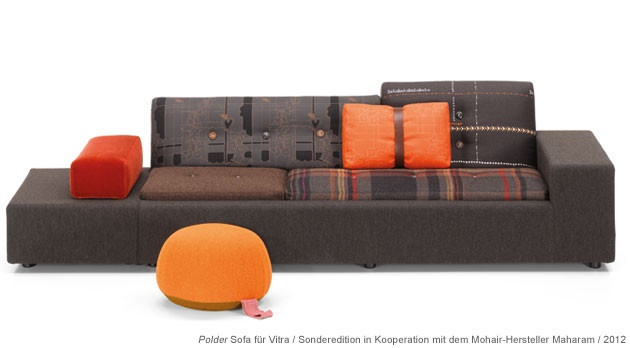 Limited Edition Polder Sofa, designed by Hella Jongerius for Vitra