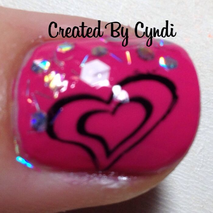 valentine nail stamping plates