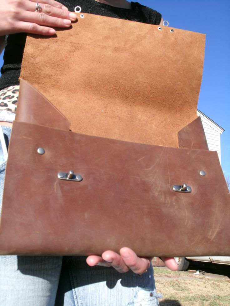distressed leather portfolio crafted high