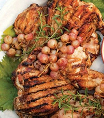 GRILLED LEMON ROSEMARY BRICK CHICKEN | Southern Gospel of Grillin' fo ...