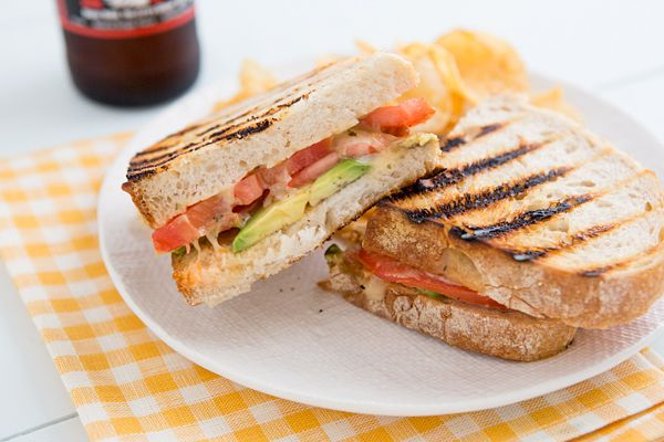... Meal Plan | 06.30.14 Avocado and tomato grilled cheese sandwiches