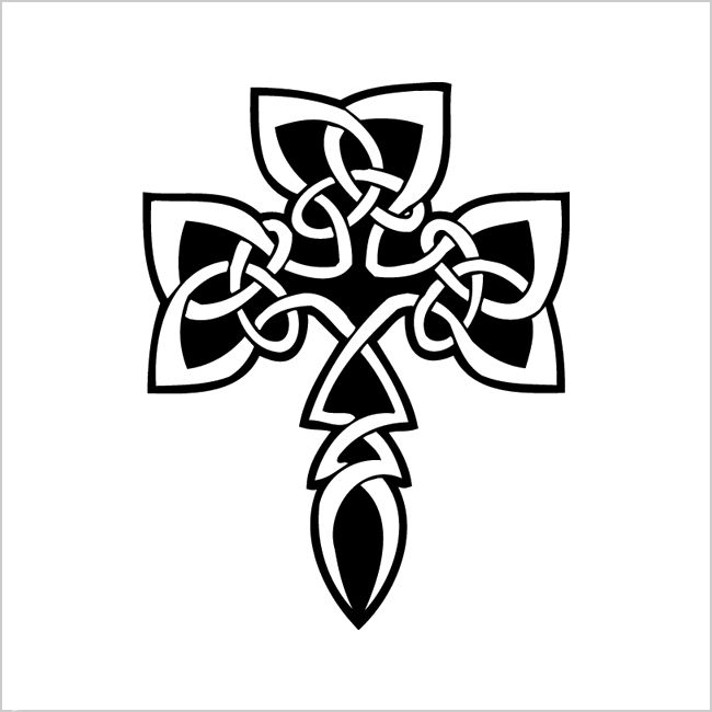 Tribal cross tattoo designs and meanings