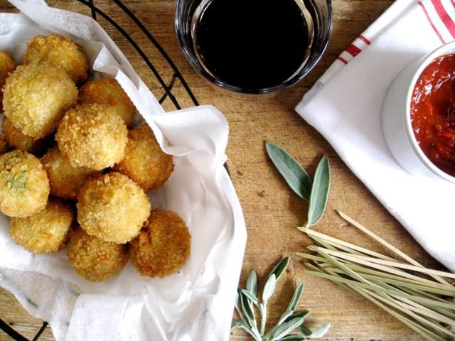 Ricotta and Sage meatballs. | Must make and/or eat | Pinterest
