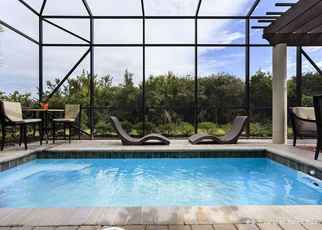 Wind Song Luxury Pool Lanai Florida House Pinterest