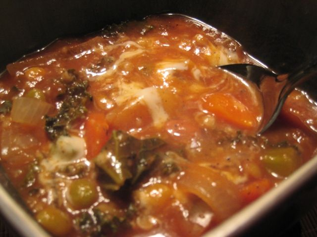 Vegetable Kale Soup | Up in the kitchen in my heels #DinnerTime | Pin ...