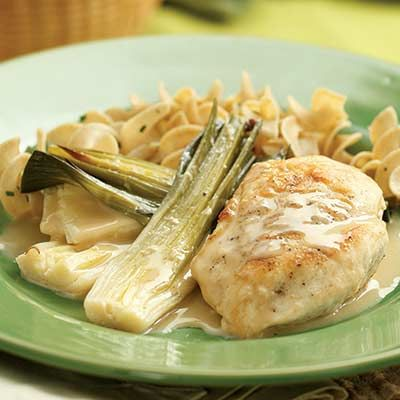 Creamy Braised Chicken With Pappardelle Recipes — Dishmaps