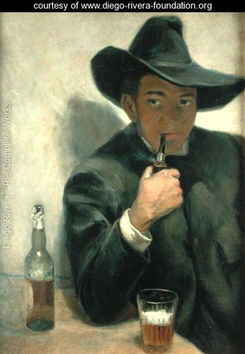 Self Portrait  1916 - Diego Rivera - www diego-rivera-foundation orgDiego Rivera Self Portrait Year
