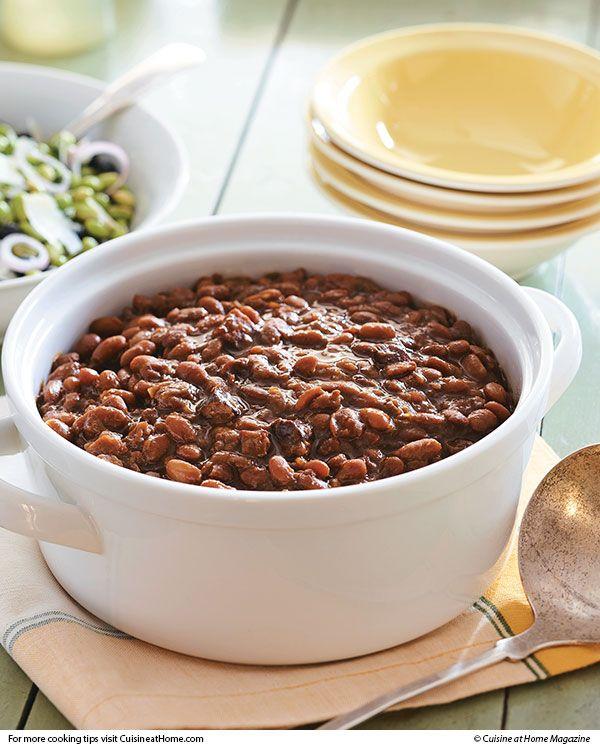 Slow-Cooker Boston Baked Beans | Recipe