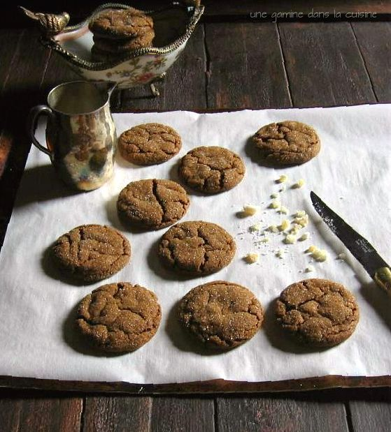 Triple-Ginger Cookies Recipe — Dishmaps