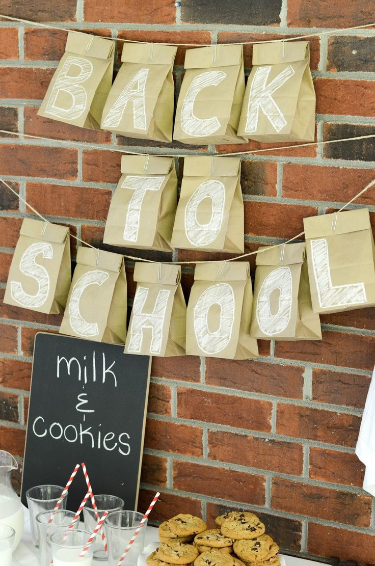Back to School Kid's Party ideas! Perfect way to start the new school year.