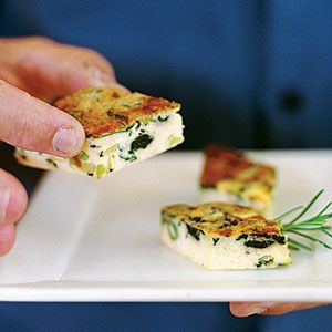 Spinach and Leek Frittata | Favorite Recipes | Pinterest
