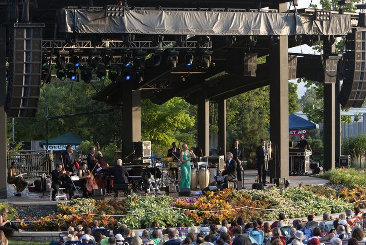 Review Pink Martini Serves Up Smooth At Red Butte Garden