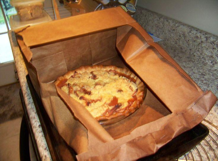 Brown Paper Bag Apple Pie | Yummm | Pinterest