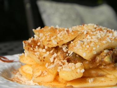 Apple Crumble Pie | Healthy Dessert Recipes | Pinterest