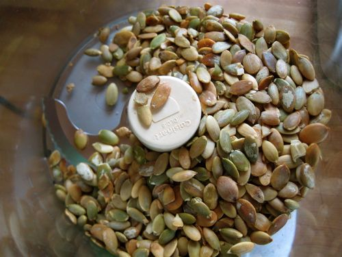 homemade pumpkin seed butter | Raw Eats! | Pinterest
