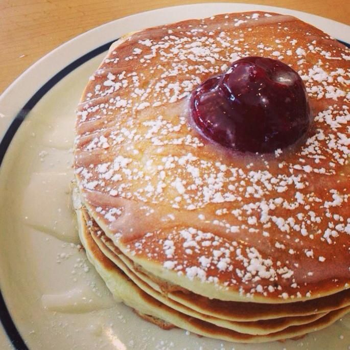 You're the jelly to our Jelly Donut Pancakes!