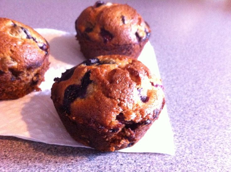 Cinnamon Blueberry Muffins - What's Cooking with Jim