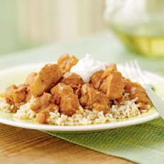 Spicy Peanut Chicken over Rice | Recipes | Pinterest