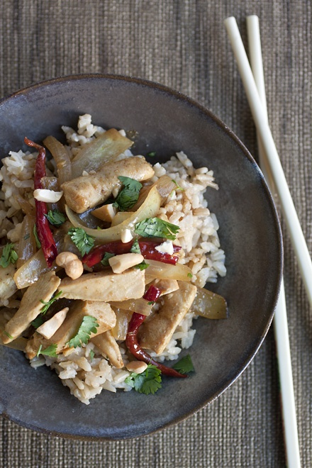 Curried Chicken and Cashews | Food-Thai / Curry! | Pinterest