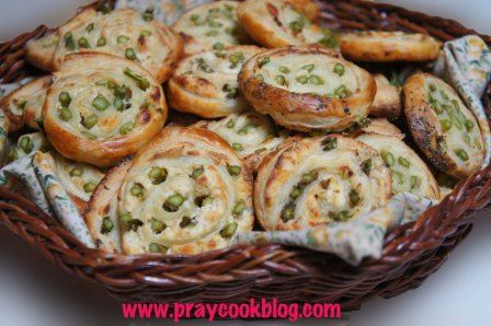 Fresh Asparagus and Puff Pastry Pinwheels | My Daily Bread Body and Soul