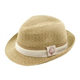 "Looking for the perfect accessory for the little man that just ""makes"" every outfit?  This tan fedora will almost literally go with everything.     Color: Tan    *SIZING:  This hat is One-Size-Fits-All however, its best for 2T to 4T*"