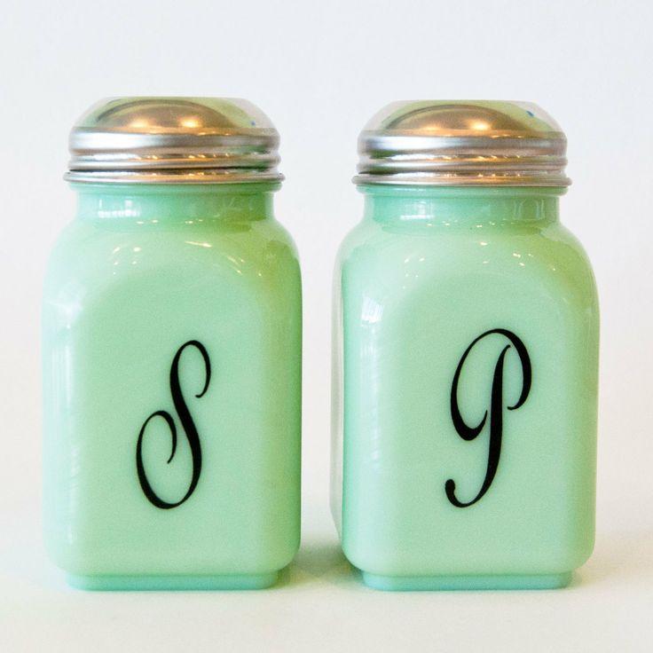 Mimi's Cookie Bar - Jade Salt & Pepper Shaker Set now at www ...
