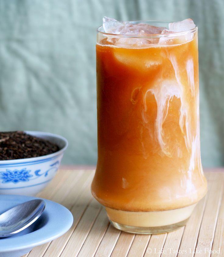 Thai Iced Tea Recipe | Drinks + Spirits + Booze + Brews | Pinterest