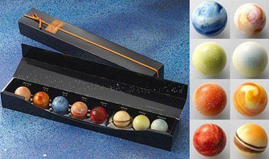 Planetary Chocolates – Nom nom nom   delicacies   Pinterest