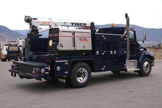 Welding Rig Trucks Pinterest
