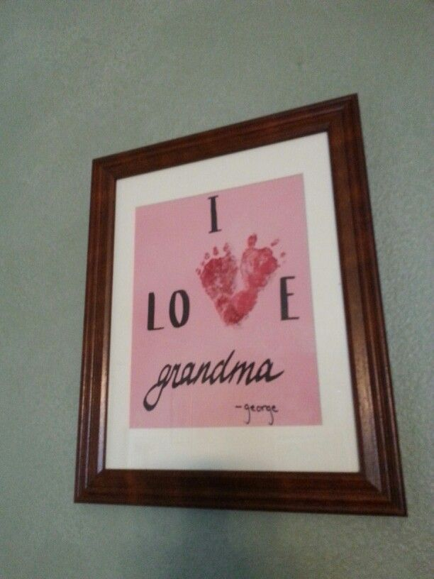 Grandma 39 s birthday gift baby king pinterest for Good birthday presents for grandma